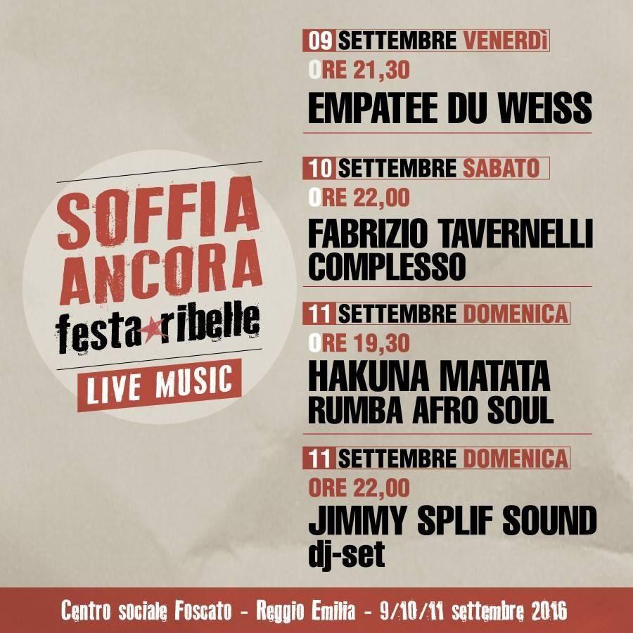 Soffia Ancora - Festa Ribelle